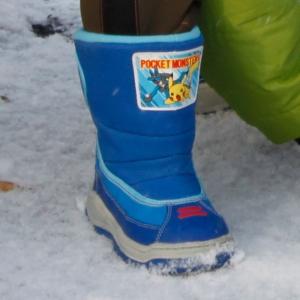 ポケモンの防寒靴