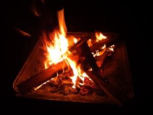 焚き火タイム