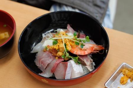 妻の海鮮丼
