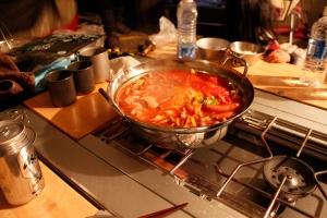 トマト鍋 シメはご飯